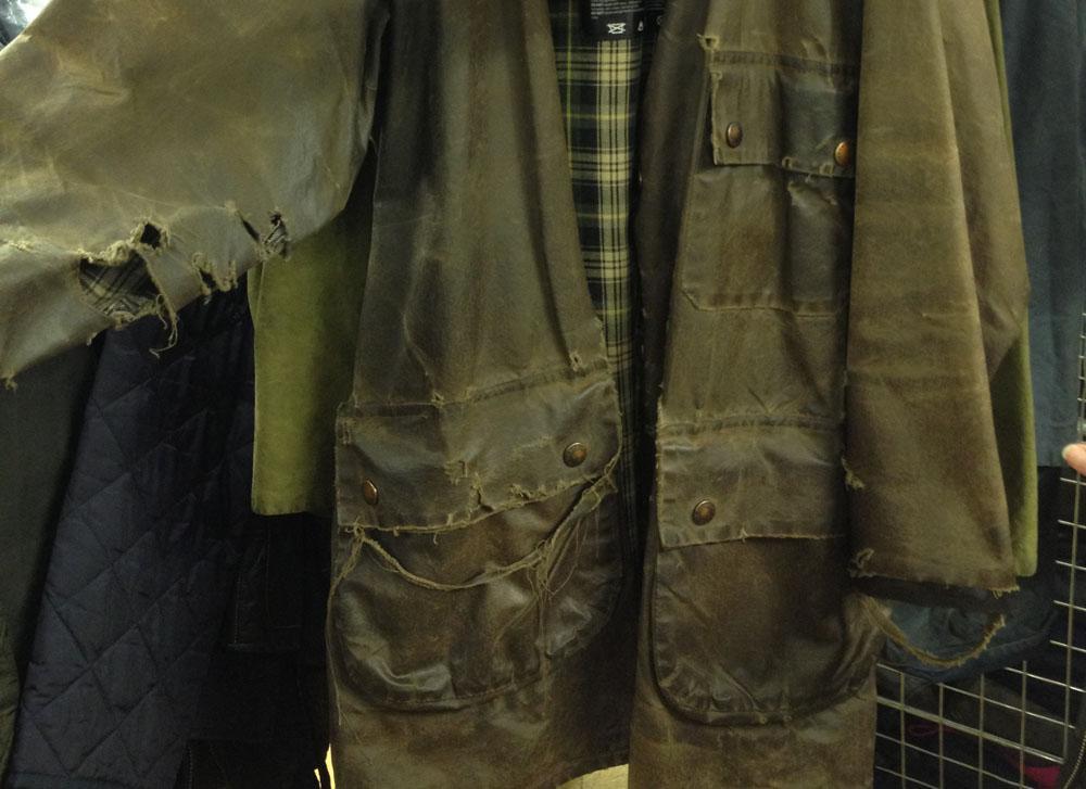 Barbour Jacket Waxing Service